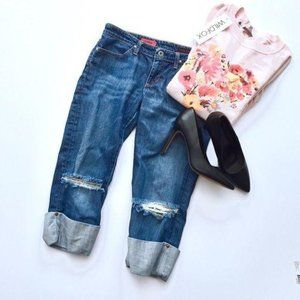 AG Adriano Goldschmied Jeans shorty  29R distresed